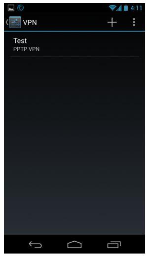 android vpn setup