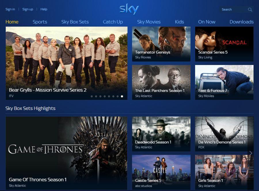 Sky Go Online
