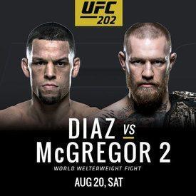 UFC 202 203 204 205 Diaz vs McGregor 2