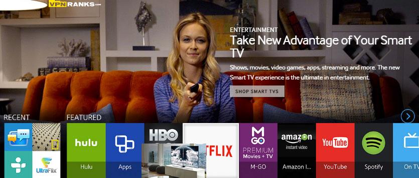 Samsung smart tv install vpn