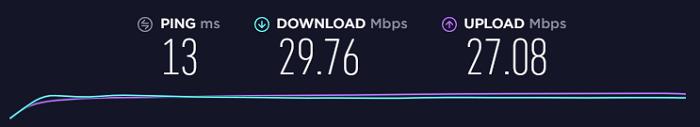 速度-测试-无Connecto-VPN