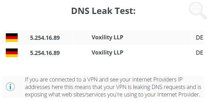 Connecto-VPN-DNS-泄露-测试