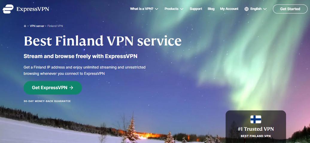 ExpressVPN-芬兰