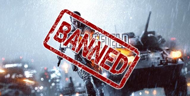 Battlefield 4 Banned