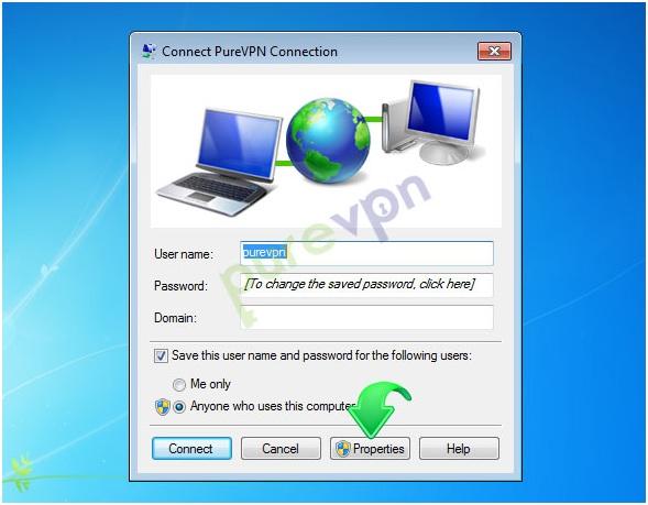 configure pptp vpn windows 8