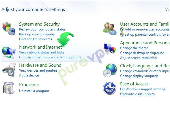 PPTP Setup on Windows