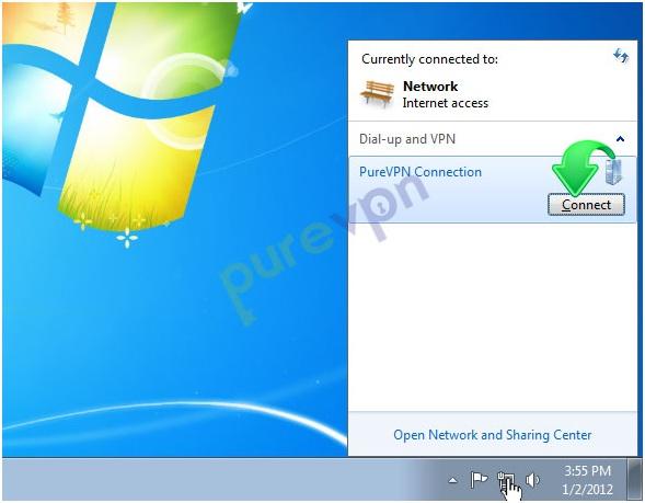 pptp configuration on windows