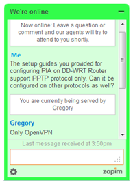 pia chat support format