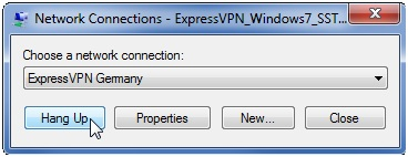 ExpressVPN Network Connection