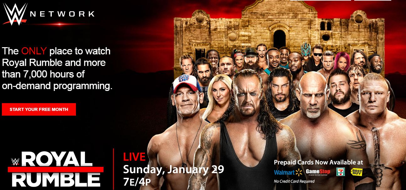watch wwe live from anywhere