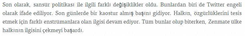 zenmate for Turkey