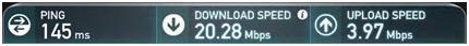 Liquid VPN Speed Test1