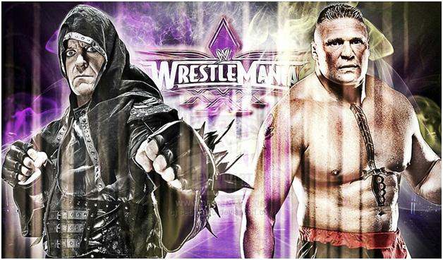 The Undertaker vs The Brock Lesner