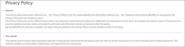 Privacy-Policy-Boxpn-Review