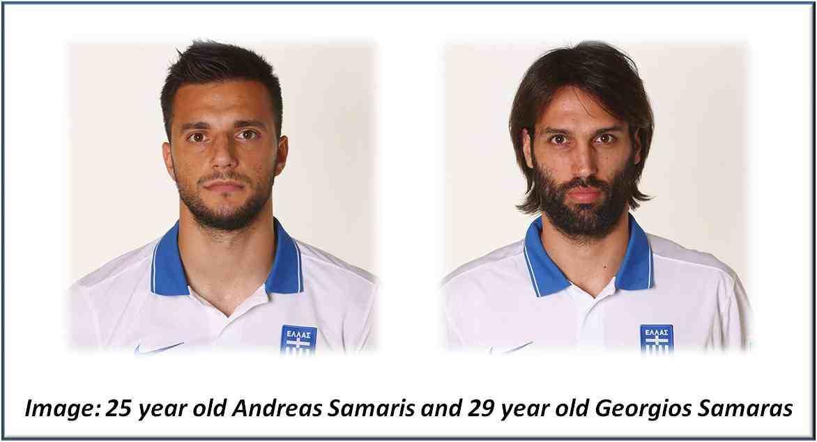 Andreas Samaris and Georgios Samaras