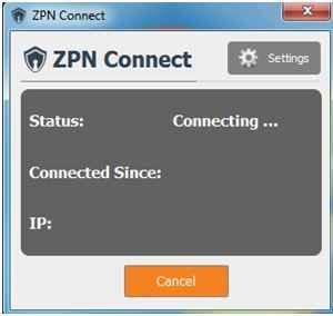 ZPN-VPN-Connecting
