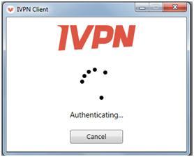 iVPN Windows Client Authentication