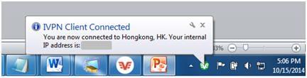 iVPN Windows Client Status