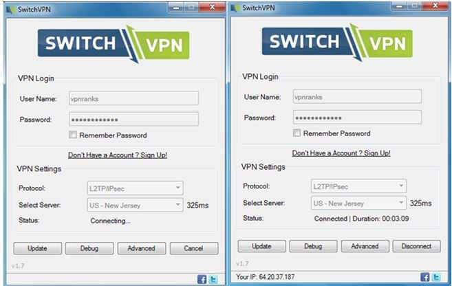 switch vpn review