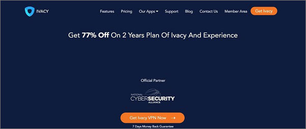 Ivacy- Best VPN for VoIP