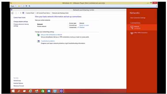 Setup VPN on windows 10