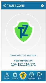 connected to trustzone