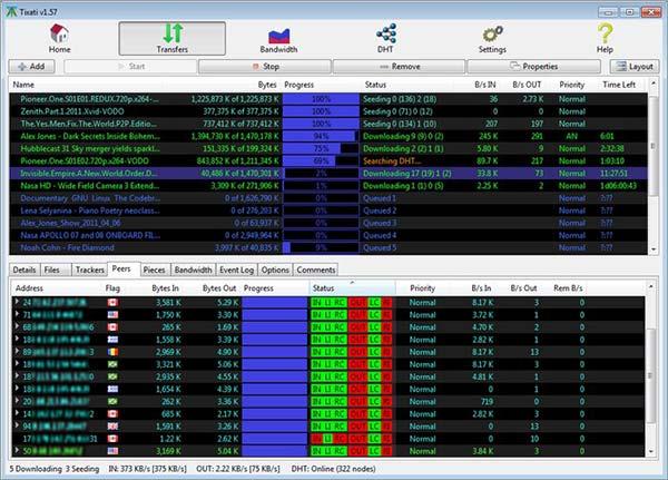 Tixati-BitTorrent-Client