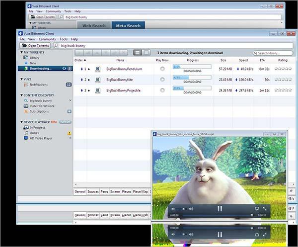 Vuze-BitTorrent-Client