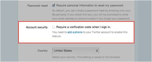 Know Who Is Accessing Your Account to improve your Twitter security