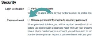 Protect Your Password to Improve your Twitter Security