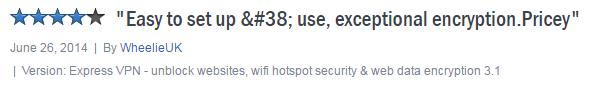 ExpressVPN Review on Cnet