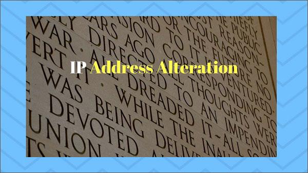 IP-Address-Alteration