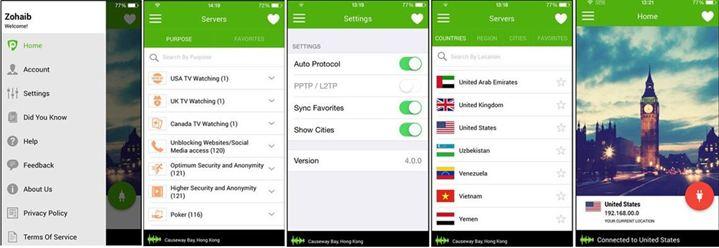PureVPN iOS App download