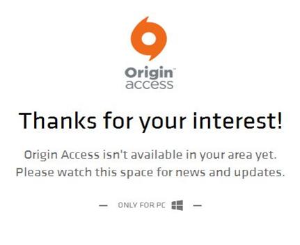 origin access on pc