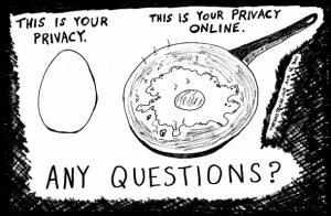Online privacy vs privacy