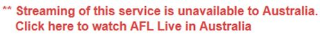 A Complete Guide on How to Watch AFL Online