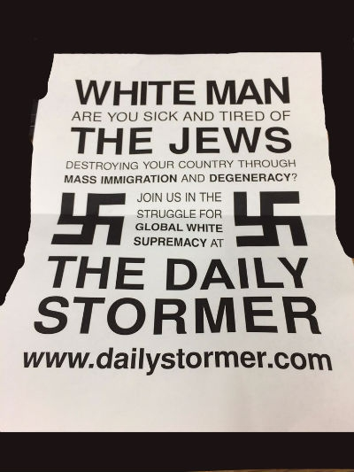 Printer Hacked For Racist Flyers