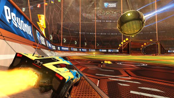 unblocked Rocket League game