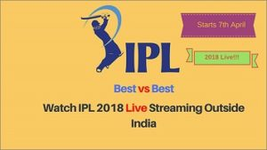 How to Watch IPL 2018 Playoffs Online Live Streaming Outside India