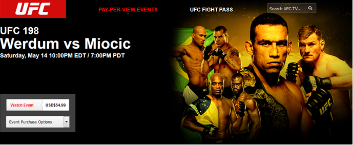 How to Watch UFC 198 Live Online at Cheap Prices