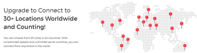 saferweb server location map worldwide