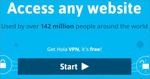 Hola VPN Service Provider