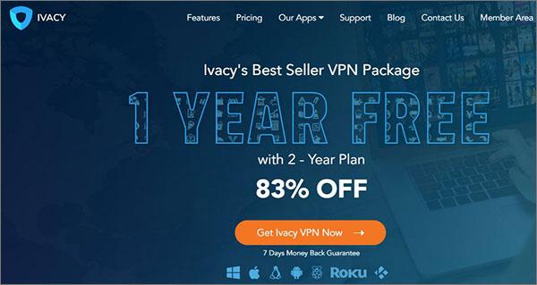 Ivacy Top VPN Service