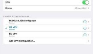 VPN WhatsApp iPhone Setup 3