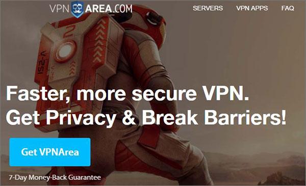 VPNArea Best VPN Services