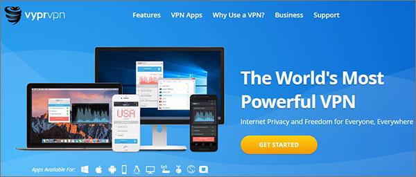 VyprVPN Top Class VPN Services