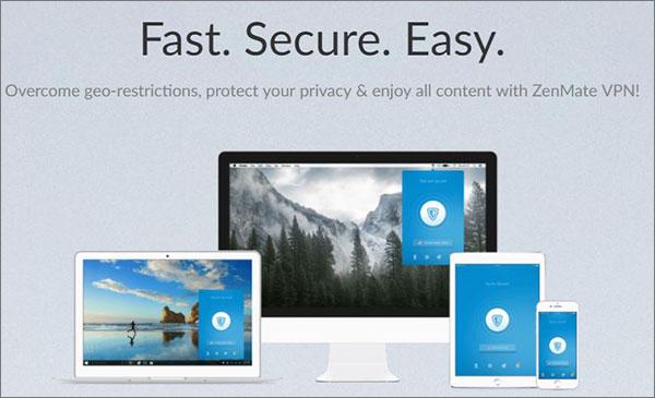 ZenMate VPN Service Provider