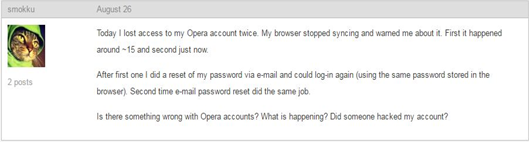 Opera Sync Hacked Protect Your Passwords