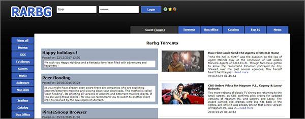 RARBG as TorrentHound Alternative