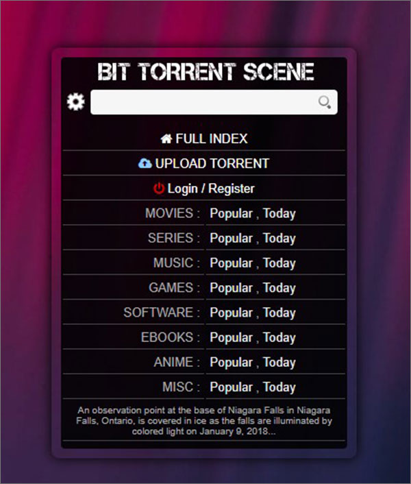 BTScene for Kickass Torrents Alternative